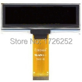 Pantalla blanca OLED de 2,23 pulgadas 24P, unidad SSD1305 IC 128*32 SPI/I2C/interfaz paralela