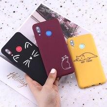 Voor Huawei Honor Mate 10 20 Nova P20 P30 P40 P Smart Kat Kittens Memes Kitty Leuke Candy Silicone Telefoon case Cover Capa Fundas