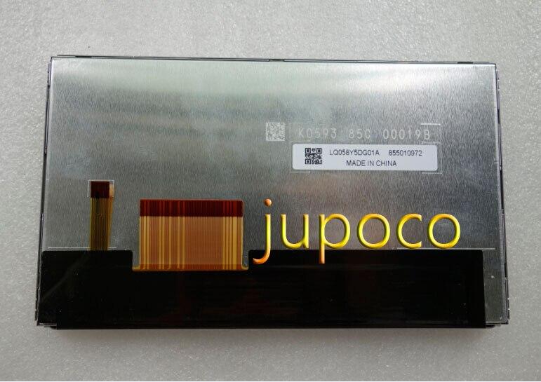 New Original LQ058Y5DG01A LQ058Y5DG01 LQ058Y5DG01P 5.8 inch Car GPS Navigation LCD Display Screen Panel 480*240 TFT Panel
