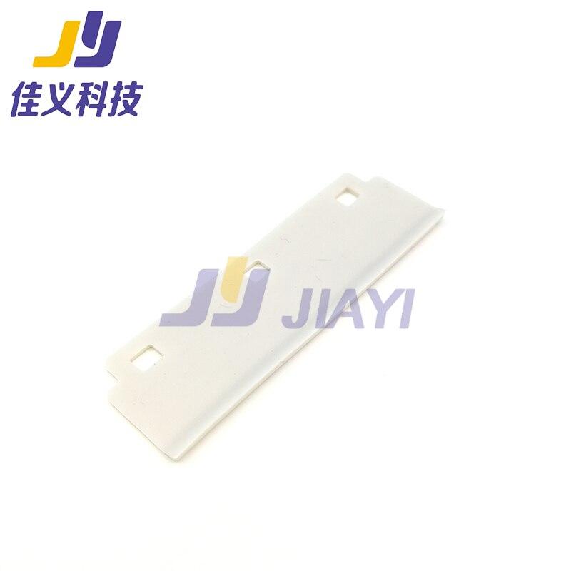 5 шт. 70 мм белый резиновый стеклоочиститель для струйного принтера Aiifar Solvent; Стандартная цена!