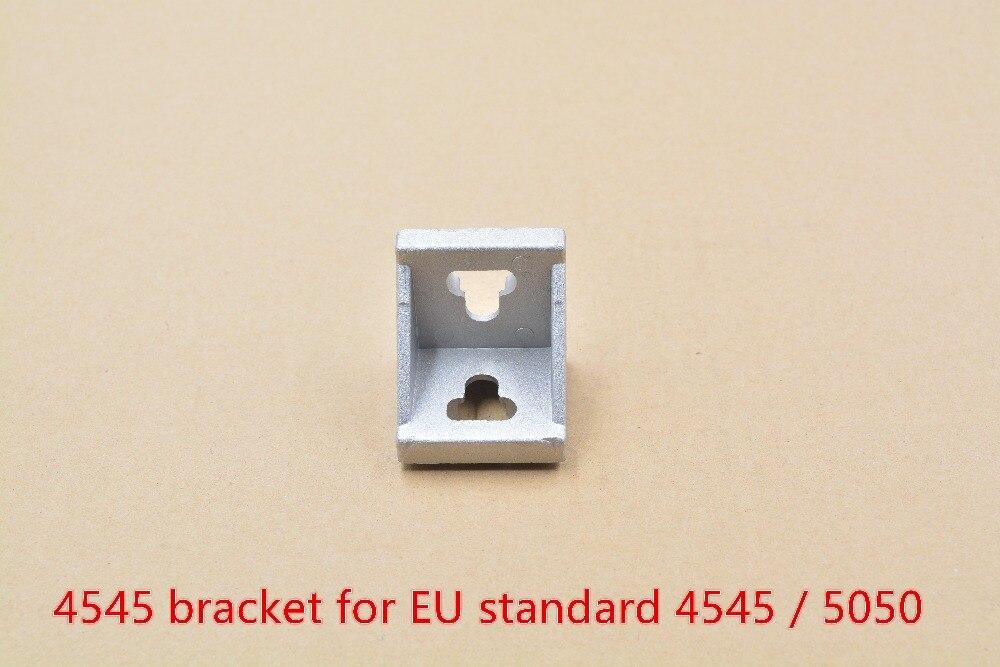 4545 bracket corner fitting   fastener for EU standard  5050 aluminum profile slot 10mm 1pcs