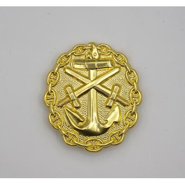 EMD WWI German Naval Wound Badge in Gold1