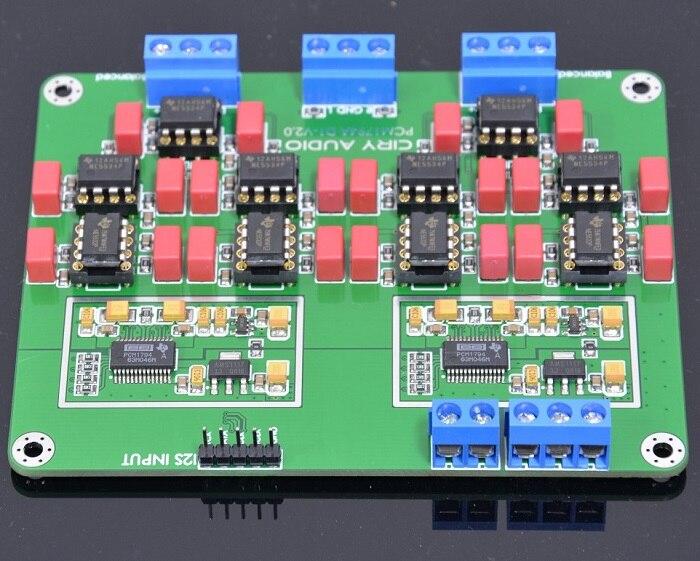 2018 último HiFi paralelo PCM1794A DAC decodificador de Audio de 24Bit 192 kHz V2 la versión de oro chapado