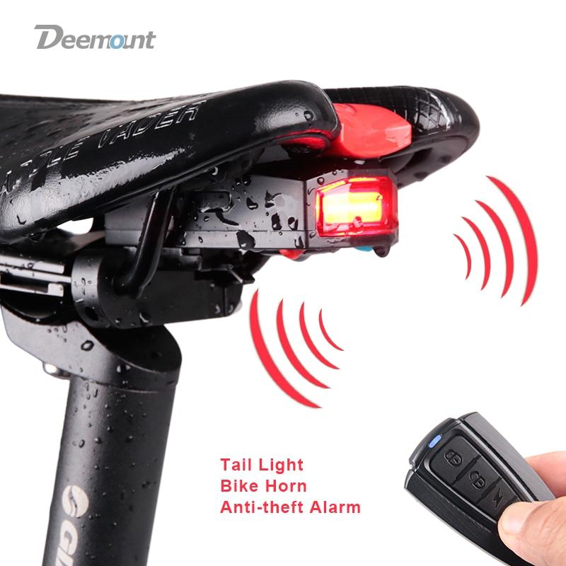 Задний фонарь для велосипеда, USB зарядка, беспроводной пульт дистанционного управления, задний фонарь, поисковик для велосипеда, фонарь, сир...