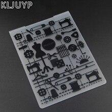 KLJUYP Sewing tools Plastic Embossing Folders for DIY Scrapbooking Paper Craft/Card Making Decoration Supplies