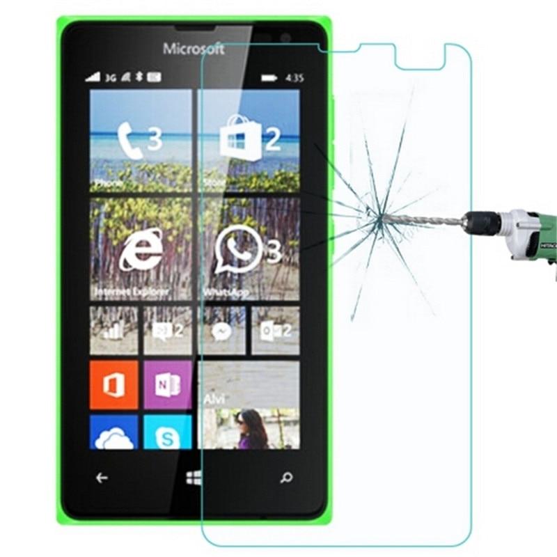 Vidrio templado para Nokia Microsoft Lumia 435 532 Dual SIM Protector de...