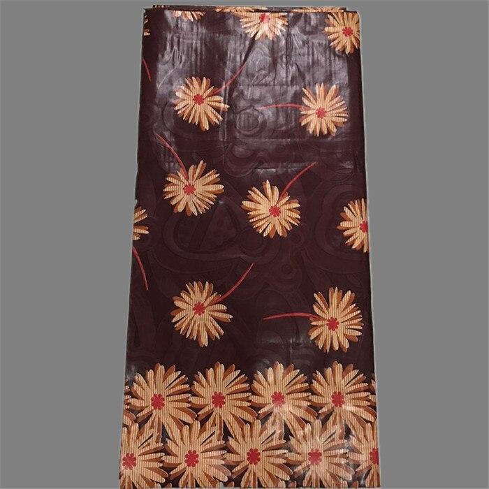 Una excelente fiesta talla material bazin Jacquard de algodón de África bazin riche tela de encaje para ropa NBR31 (5 yardas/lote)