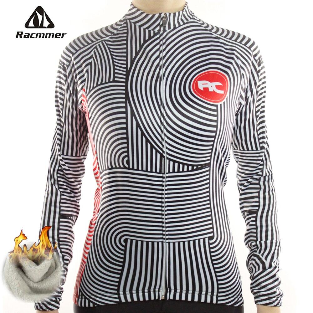 Racmmer invierno 2020 Long Pro polar Ciclismo Jersey mujer Ropa bicicleta Ropa Equipacion Ciclismo Ropa # NZ-06