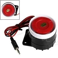 Nouveau systeme dalarme sonore de securite a domicile Mini sirene filaire 120dB DC 12V