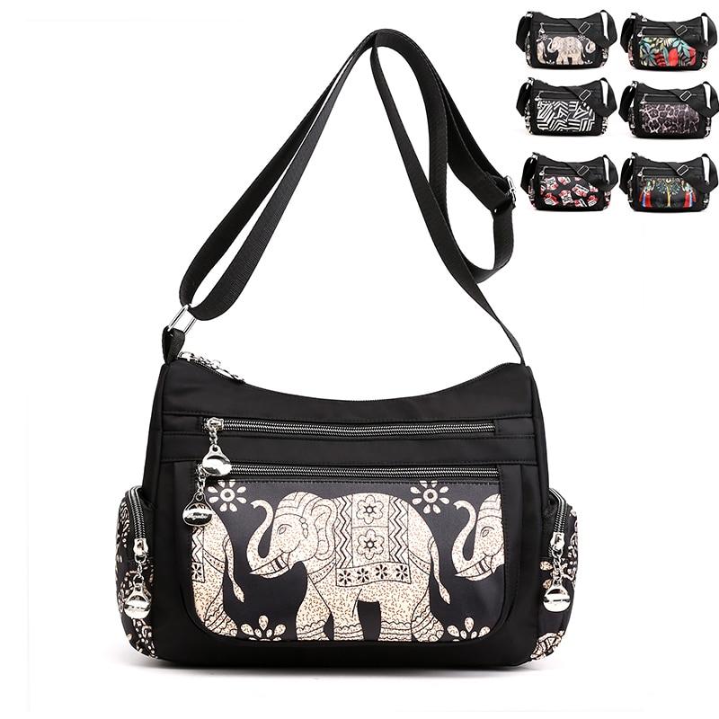 6 múltiples gráficos de las mujeres bolsas de mensajero de hombro de mujer Bolsos hobos Bolsos monedero marca Bolsos
