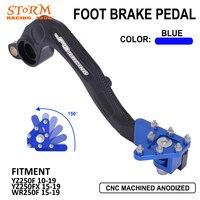 MX Rear Foot Brake Lever Pedal Aluminum For YAMAHA YZ WR YZ250F YZF250 250F 250 F YZ250FX 250FX 250 FX WR250F 250 F 2010-2020