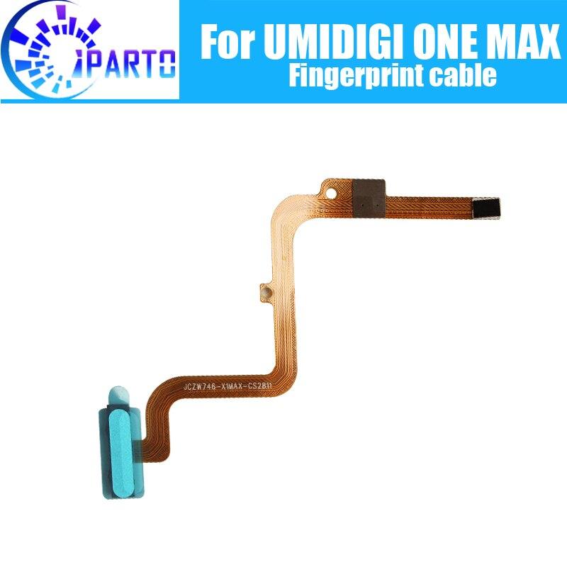 100% Original nuevo sensor de huella digital Flex Cable para umideli ONE MAX