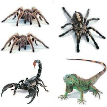 Car-styling 3D Car Sticker Decal Animals Spider Gecko Scorpions for Ford Focus Kuga Fiesta Ecosport Mondeo Escape Explorer Edge