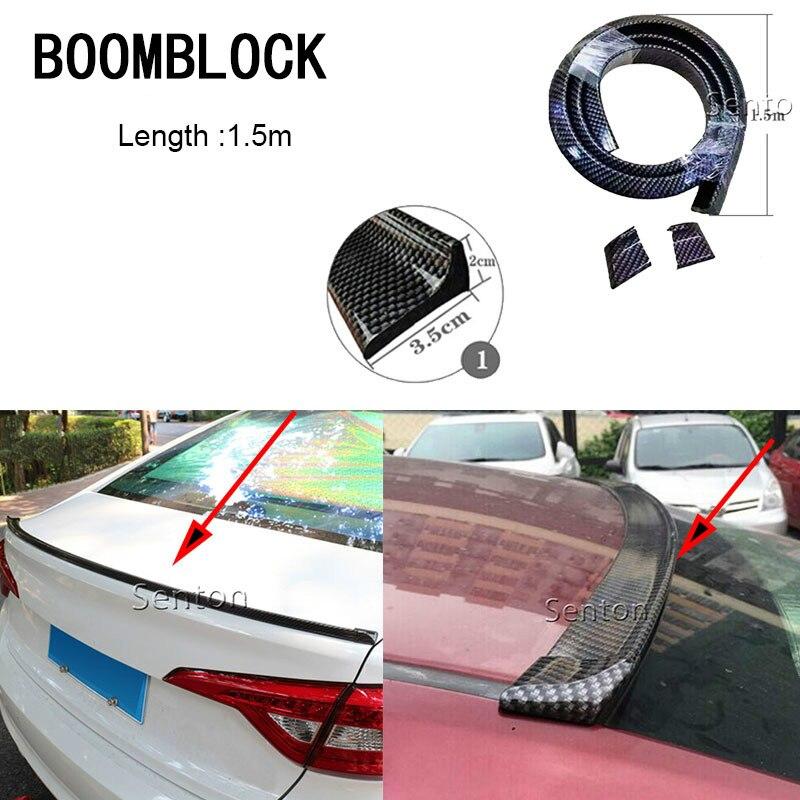 Sobrancelha da roda/amortecedor dianteiro/spoilers carbono proteger adesivos para peugeot 308 206 307 207 407 508 citroen c5 c3 c4 opel vectra c