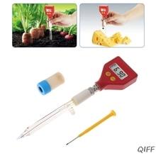 PH-98108 pH Meter Sharp glass Electrode for Water Food Cheese Milk Soil pH Test Mar28