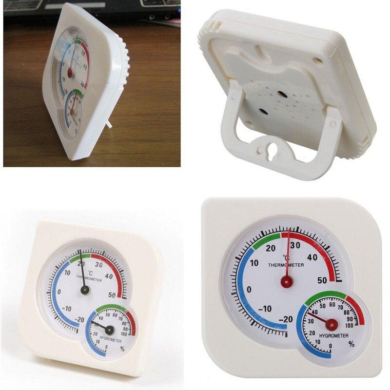 -20 ~ 50 grados tipo puntero medidor de temperatura y humedad es adecuado para la herramienta de medición de humedad de la casa del bebé del jardín de infantes