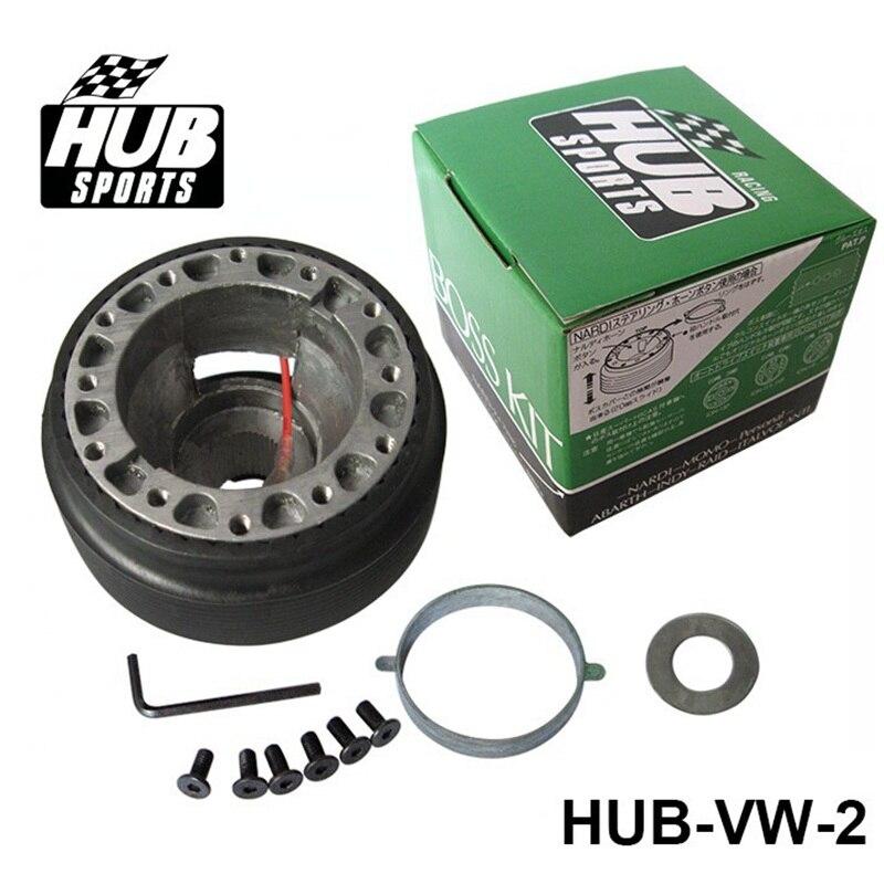 Adaptador de cubo para volante de carreras, Kit Boss para VOLKSWAGEN HUB-VW-2
