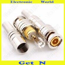 Canare 75-5-connecteur BNC doré   Sans soudure, pour câble numérique HD, de Type américain BNC Connetcor, 20 pièces-200 pièces