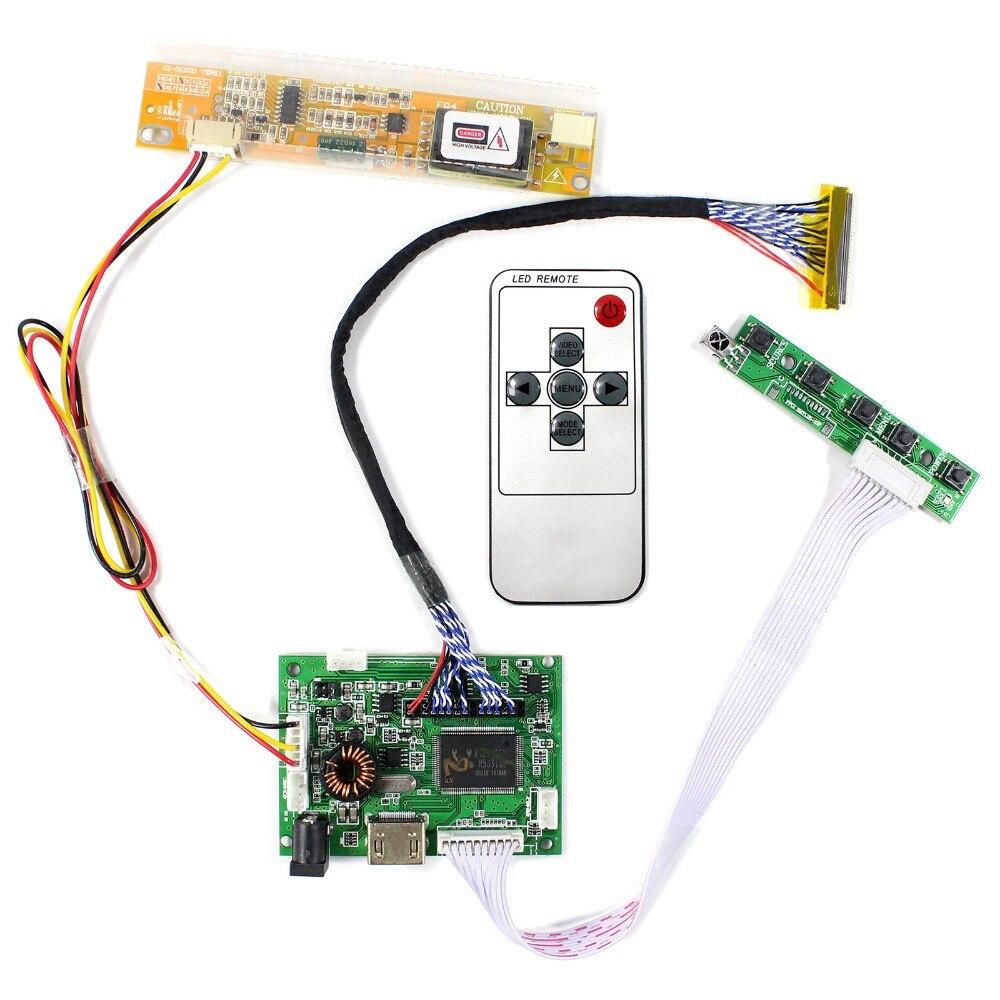 Placa controladora HDMI + Audio LCD para 15,4 pulgadas 17 pulgadas 1440x900 cla154wp05 LP154WP1 B170PW03 B170PW06 pantalla LCD