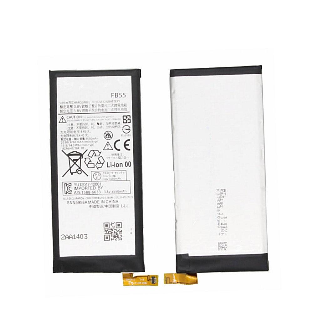 3760 mAh bateria para Motorola MOTO Droid Turbo 2 XT1585 SNN5958A FB55 XT1580 XT1581 X Força Mobi Substituição de Alta qualidade bateria