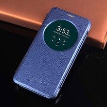 Intelligent Cercle View Case Pour Asus Zenfone 2 Laser ZE500KL ZE500KG 5.0