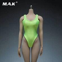 1/6 vert et noir Sexy femmes sous-vêtements maillot de bain combinaison vêtements modèles pour 12 femmes corps Figures