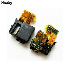 New Audio Jack Port Plug For Sony Xperia Z L36h C6603 Headphone Jack Proximity Light Sensor Flex Cable Ribbon