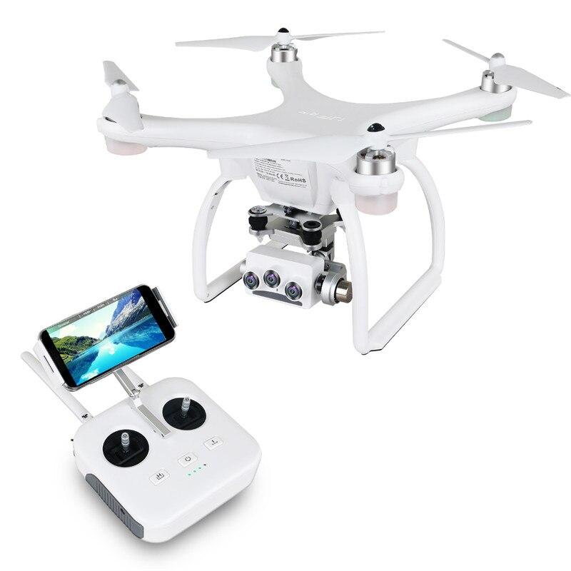 Lupair 2 Ultrasonique RC Drone 5.8G 1KM FPV 3D + 4K + 16MP Caméra Avec 3 Axes Cardan GPS RC quadrirotor Drone RTF