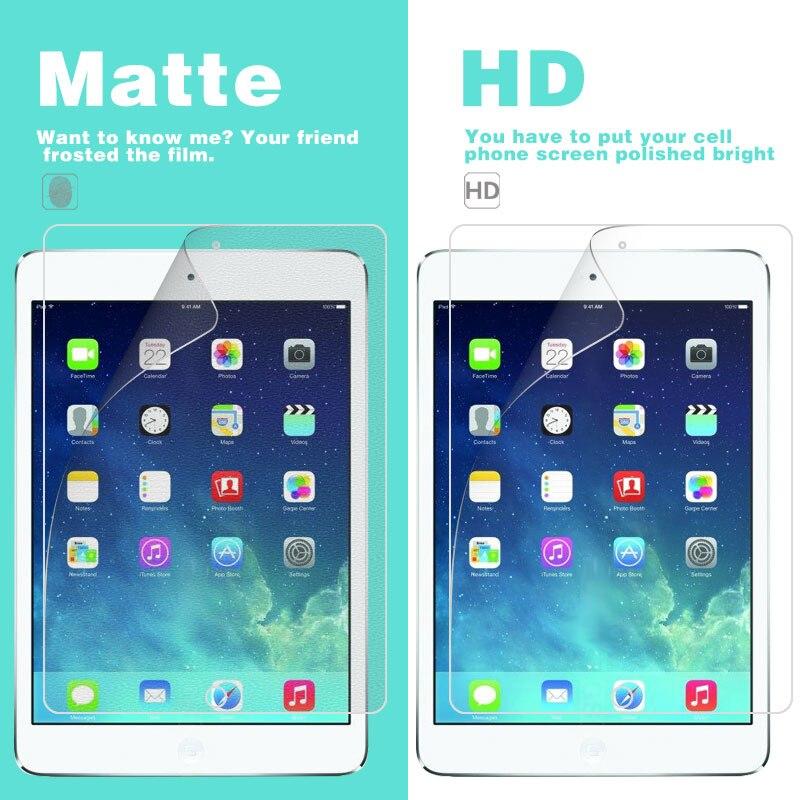 Película mate antideslumbrante para APPLE Iphone Ipad Mini 2 7,9 en HD, película frontal brillante transparente, Protector de pantalla, funda para Tablet