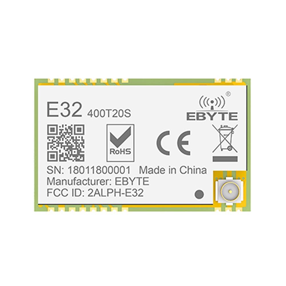 Módulo RF de largo alcance E32-400T20S LoRa SX1278 transmisor y receptor de 433 MHz