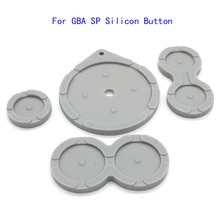Резиновый проводящий кнопки для Nintendo для игры мальчик классический GBA SP силиконовые кнопки подкладки