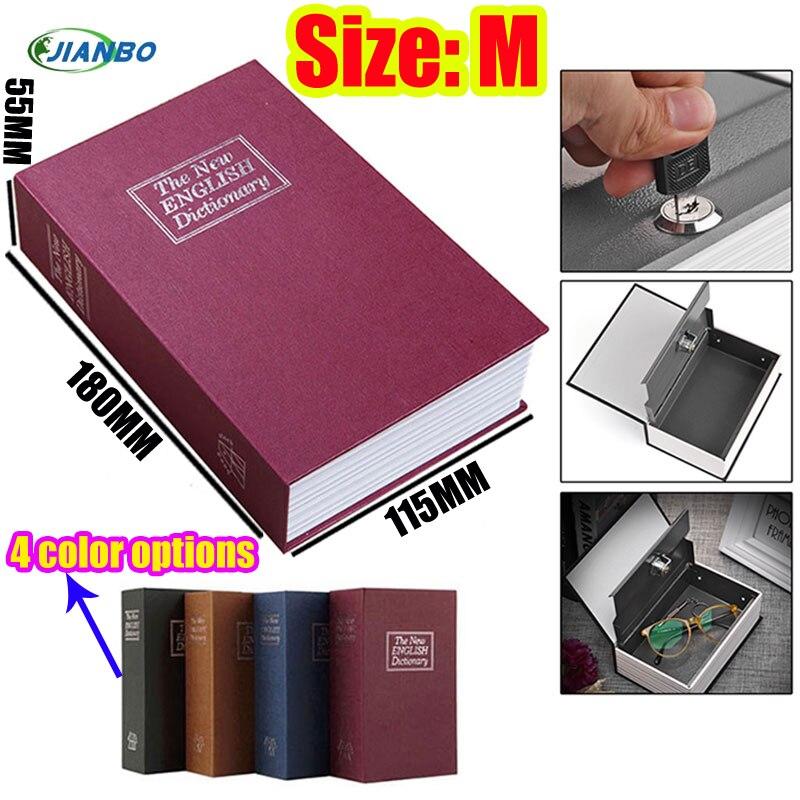 Hidden Secret Box For Kids Cassaforte Mini Piggy Bank Lock Book Safe Box Cofre Cash Storage Items Key Stash Small Safe For Money недорого