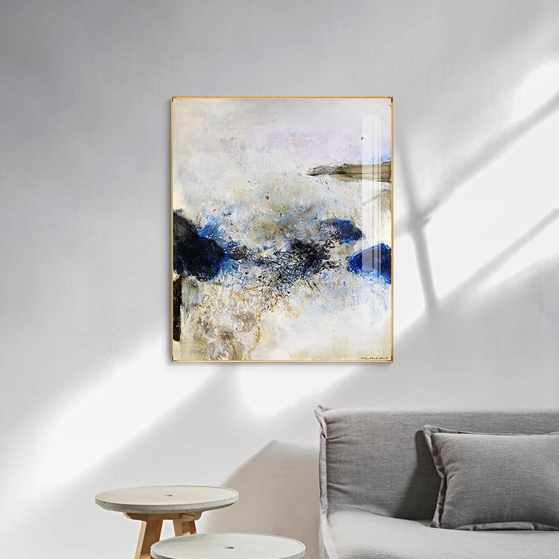 ZAOWUKI-cuadro de un pintor famoso, lienzo abstracto imaginativo, póster e impresiones, cuadros...