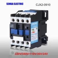 9a cjx2 0910 3pno ac contactor lcd 0910 380v 220v 110v 36v 24v