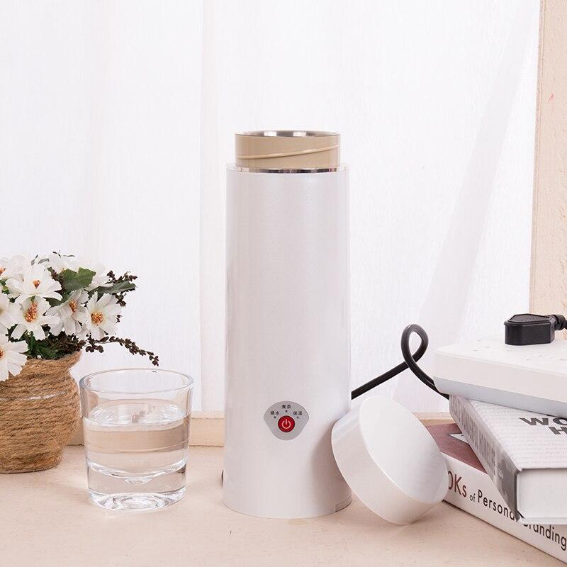 Chaleira elétrica fervente portátil mini chaleira elétrica inteligente samovar caldeira de água de aço inoxidável chaleira térmica água quente