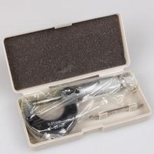 Meilleur 0-25mm 0.01mm jauge à lextérieur métrique micromètre outil avec métal pour mécaniste étrier outil nouvelle offre spéciale