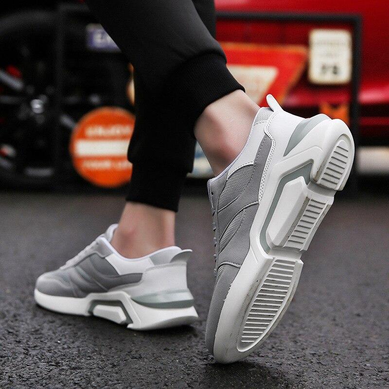 Zapatos Koovan para hombre 2018, Primavera y novedad de verano, zapatos geniales, zapatos de hombre de malla de ocio, zapatos de hombre mayor, zapatillas informales para niños