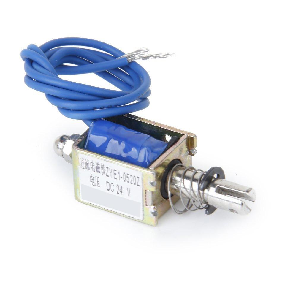 ¡Promoción! Chasis de válvula solenoide abierta de 24V CC, Electro-imán, ZYE1-0520Z solenoide