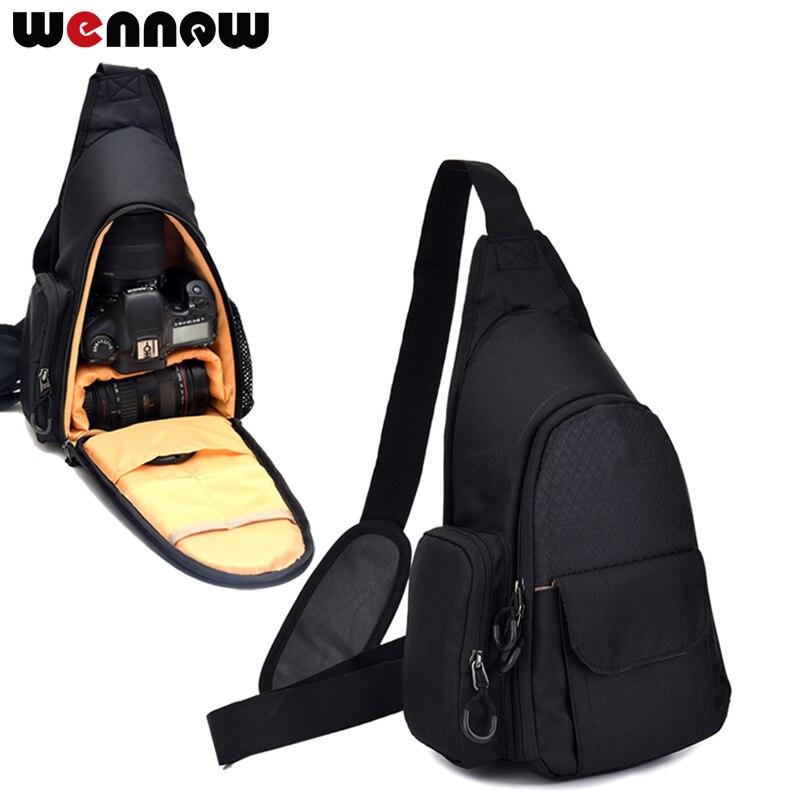 Nueva mochila de hombro wennew para cámara DV Photo Case Sling para Panasonic LUMIX S1R GX80 GX85 GM5 GM1 FZ2500 FZ300 FZ200 LX100 LX10