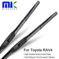 Mikkuppa Hybrid Wiper Blades For Toyota RAV4 From 1994 To 2018 Windshield Windscreen Wiper Auto Car Accessories