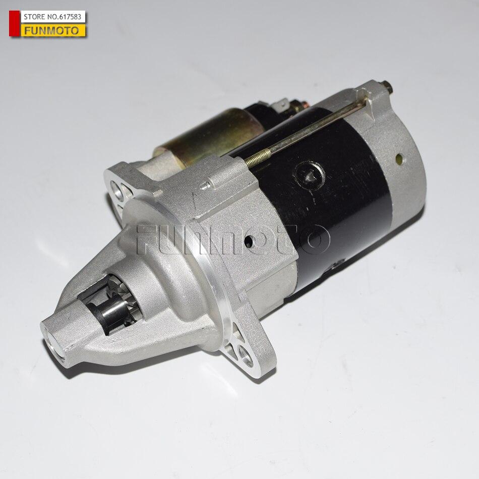Motor de arranque traje para MEITIAN MT800KG-4/XT650/KINROAD 650/XT1100/KINROAD 1100CC GOKART/ATV Campell KB4-650 9 dientes