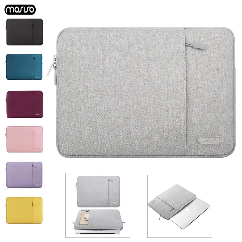 MOSISO Notebook Tasche 15 6 14 13 3 12 11 6 zoll Laptop Sleeve Tasche Weiche Taschen Fur Macbook Air Pro Retina Xiaomi dell HP Lenovo Asus