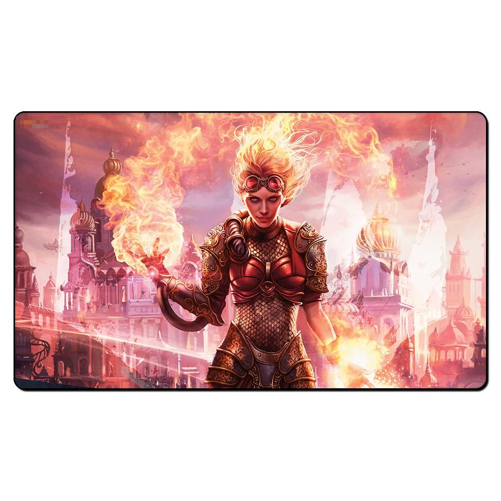 (Chandra Torch of Defiance) tapete mágico tcg, juegos de mesa, juegos de mesa, alfombrillas de juego personalizadas mgt