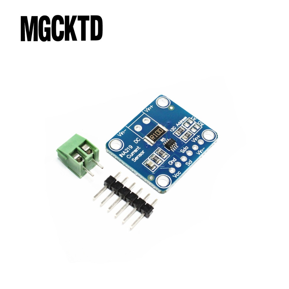 C302 10 pçs/lote zero drift cjmcu-219 ina219 i2c interface bi-direcional atual/módulo sensor de monitoramento de energia