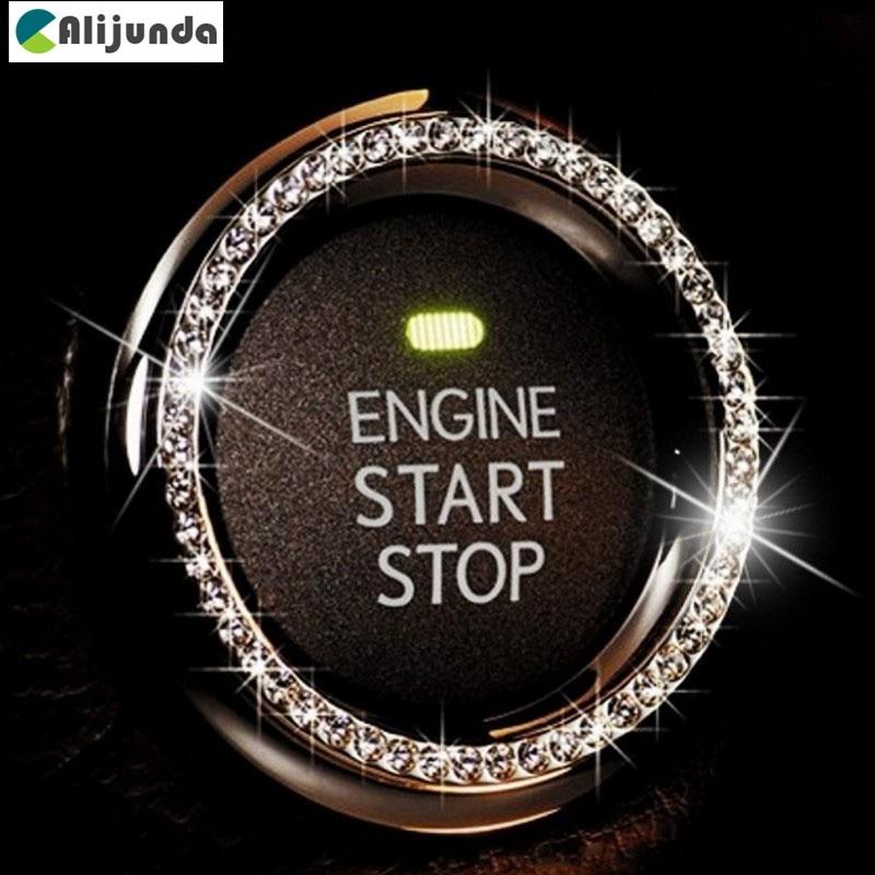 Interruptor de ignição do carro decoração Anel Adesivo para Dodge Journey JUVC/Carregador/DURANGO/CBLIBER/SXT/DARDO