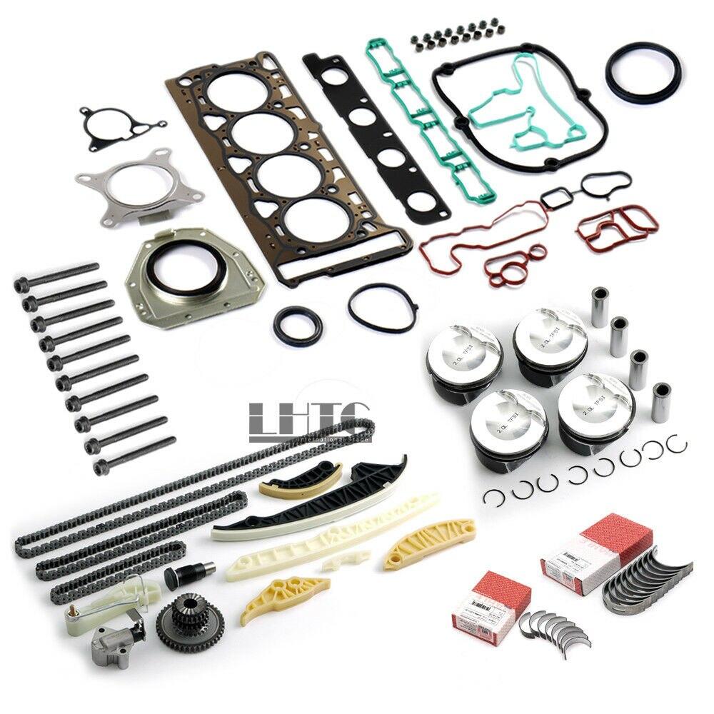 Reconstrucción del motor Kit de reparación de gran tamaño 83,01mm (+ 0,5) V W AUDI 2,0 ETI TFSI CAWB CBFA CCTA CCZA CCZB CCZD CAEA CAEB CDNB CDNC