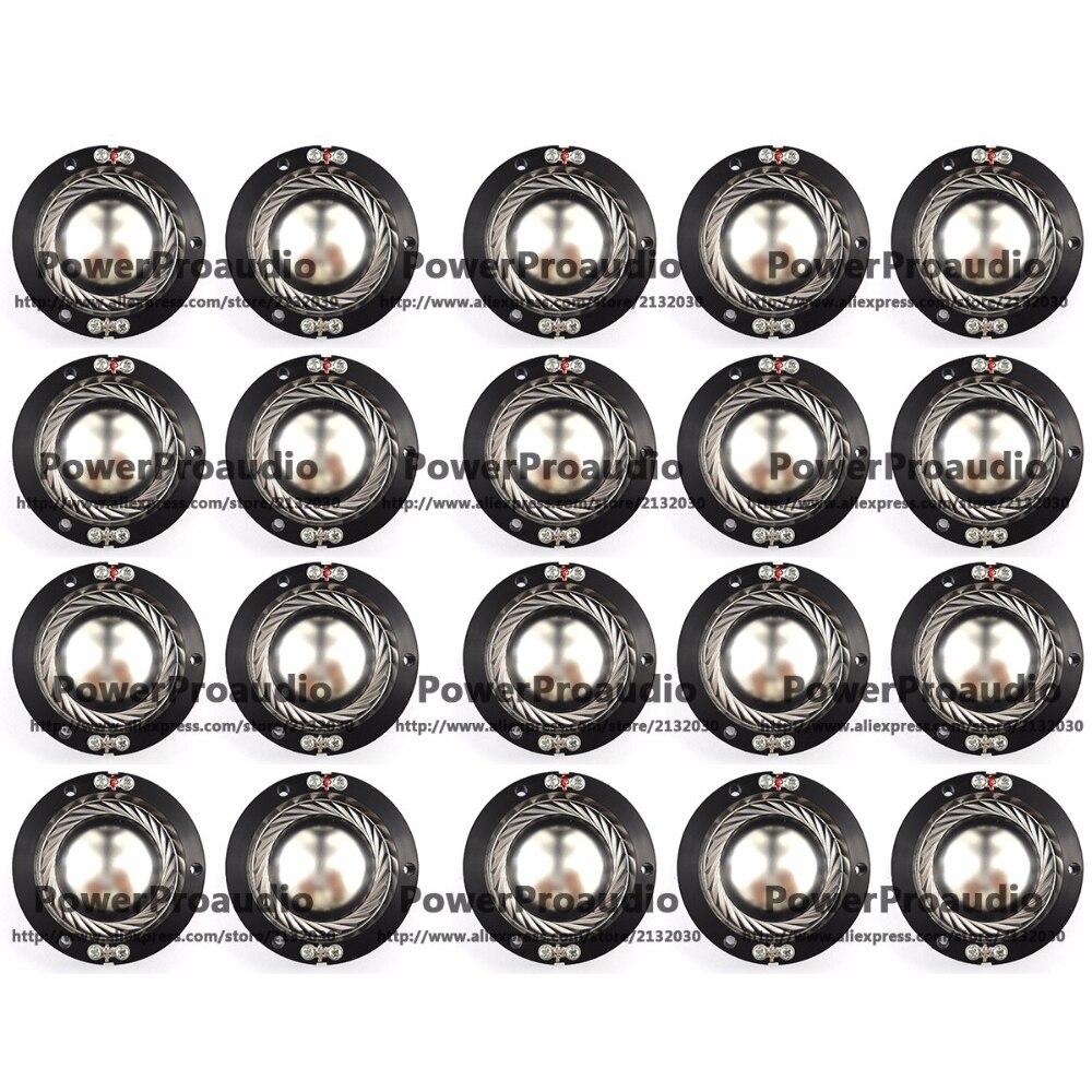 20 piezas reemplazo de diafragma de aluminio para Altec Lansing 604.802.806 Lansing...