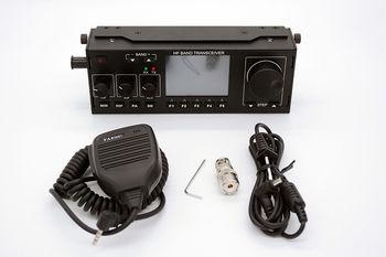 Émetteur-récepteur amateur 10-15W RS-918 SSB HF SDR, puissance d'émission TX 0.5-30MHz V0.6 DF8OE's bootloader version 4.0.0 Compatible avec mfc