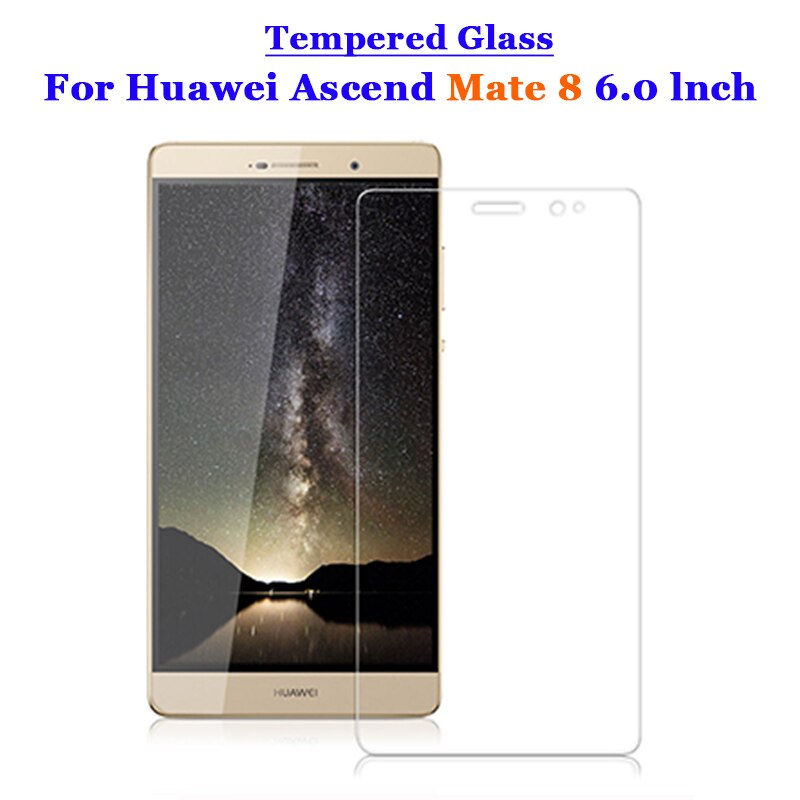 For Huawei Mate 8 Tempered Glass 9H 2.5D Premium Screen Protector Film For Huawei Ascend Mate 8 Mate8 6.0