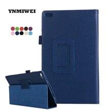 Защитный чехол для планшета Lenovo Tab 4 8 ТБ-8504N, чехол из искусственной кожи Lichi, 8,0 дюйма, чехол для планшета Tab 4 8504, YNMIWEI